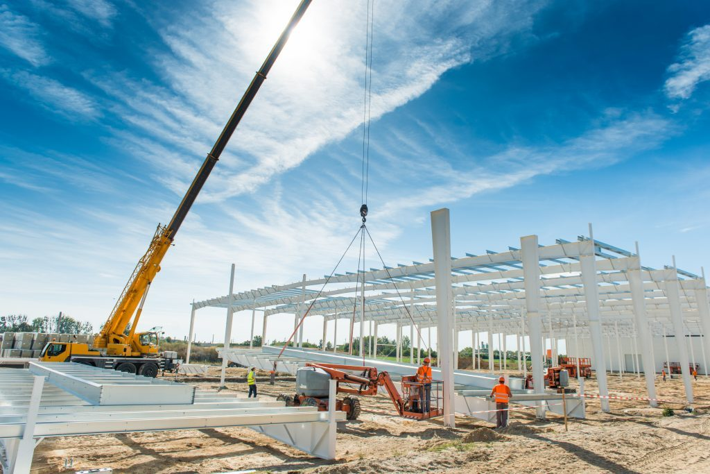 Warehouse Construction in Rosenberg, TX